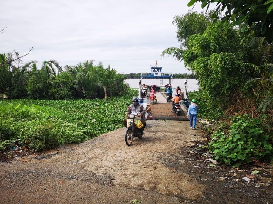 Motorrad-Tour zum Mekongdelta