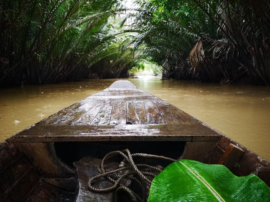 Bootstour auf dem Mekongdelta