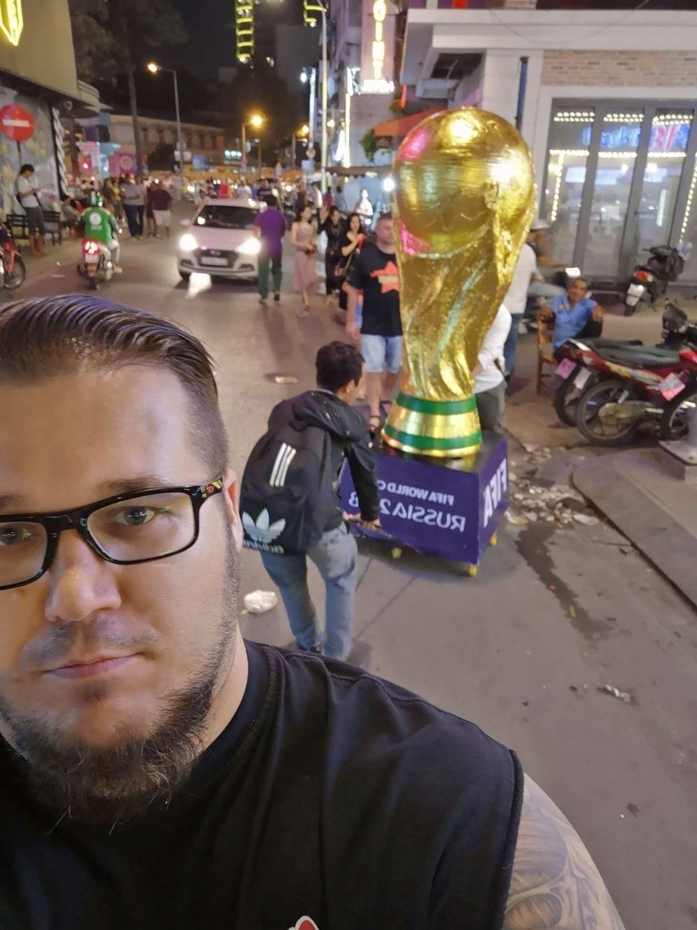 Auf den Strassen Saigons